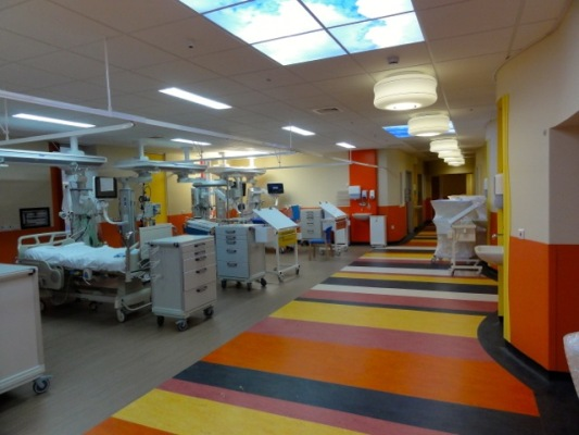 New Picu Paediatric Intensive Care Unit Birmingham